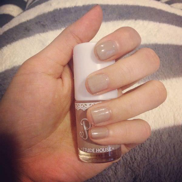 指彩|ETUDE HOUSE 氣質灰浪漫玩色指甲彩及保固滋養液、增豔亮甲油、強固卸甲液♥