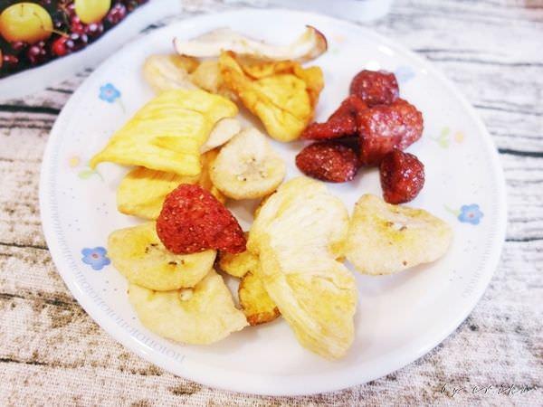 食記|一吃就上癮 OB嚴選愛上新鮮水果乾/草莓乾 刷嘴的停不下來
