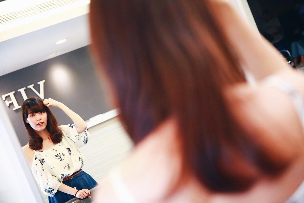 髮型|士林區天母VIF Hair Salon summer設計師 用溫塑燙打造出 我夢寐以求的日系浪漫蓬鬆捲髮